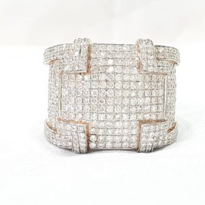 Pinky Diamonds Ring