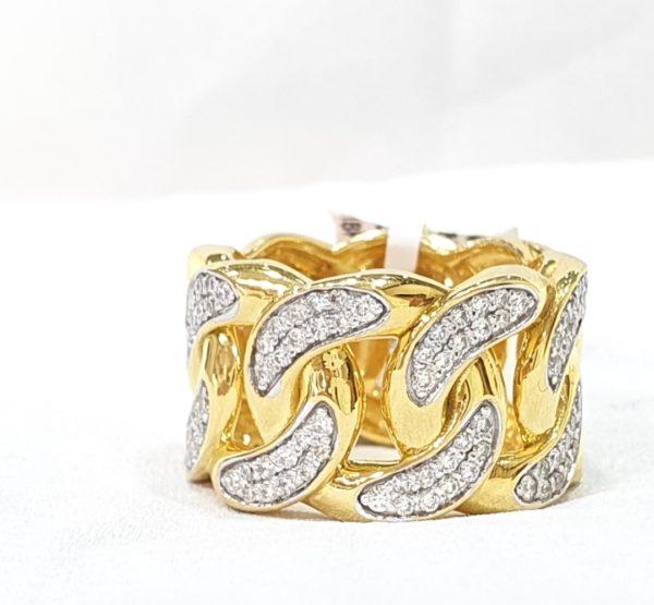 Miami Cuban Link Chain Ring