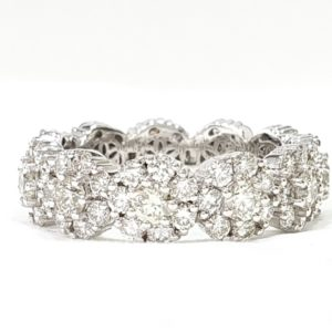 Wedding Ring Full Eternity Diamond