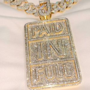 Diamond Pendant - Paid In Full