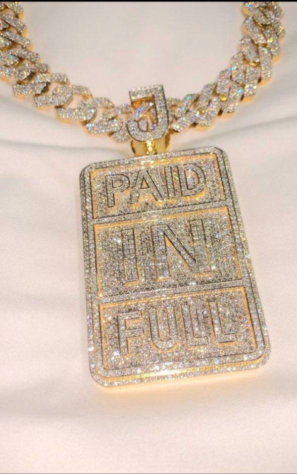 Diamond Pendant - Paid In Full