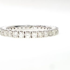 Full Eternity Ring Brilliant Cut Diamond