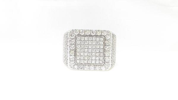 Men's Diamonds Pinky Ring