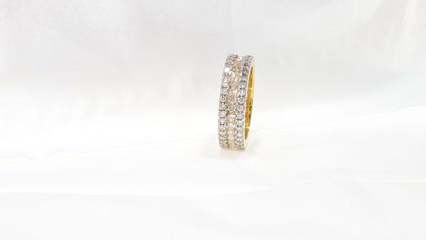 Diamond Wedding Band Ring for Mens Or Women